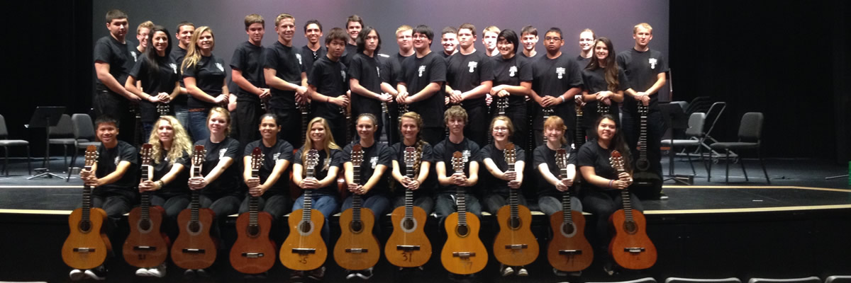 Riverview's Guitar Ensemble